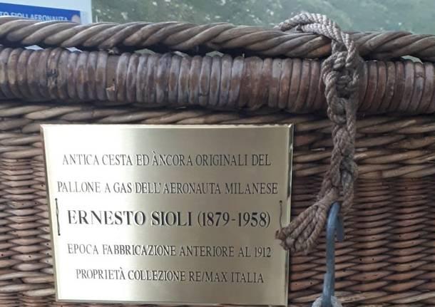 mongolfiera Ernesto Sioli