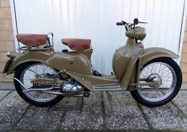 moto d'epoca aermacchi 125n cigno