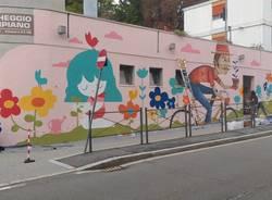 murales parcheggio multipiano di casbeno