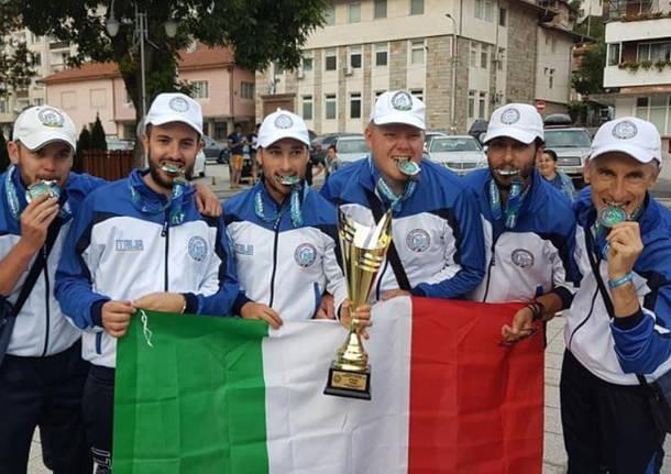 nazionale pesca sportiva esche artificiali da riva 2021 italia