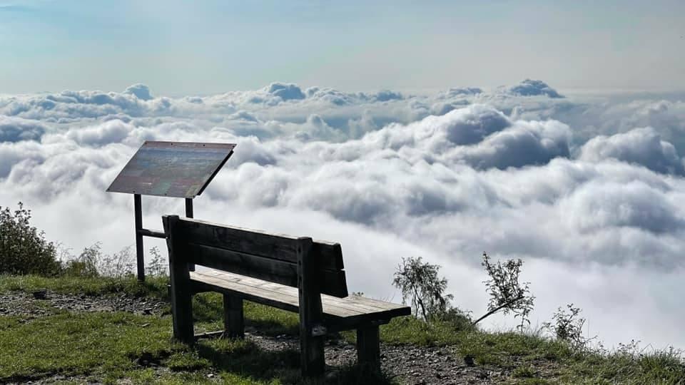 Nuvole al forte di Orino