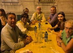 Palio di Legnano, cena alla contrada Sant'Ambrogio