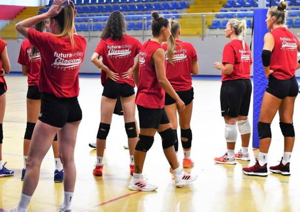 pallavolo futura volley giovani