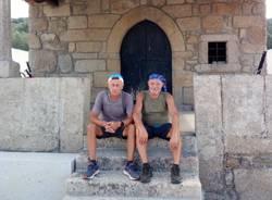 Paolo e Luciano sul Cammino di Santiago