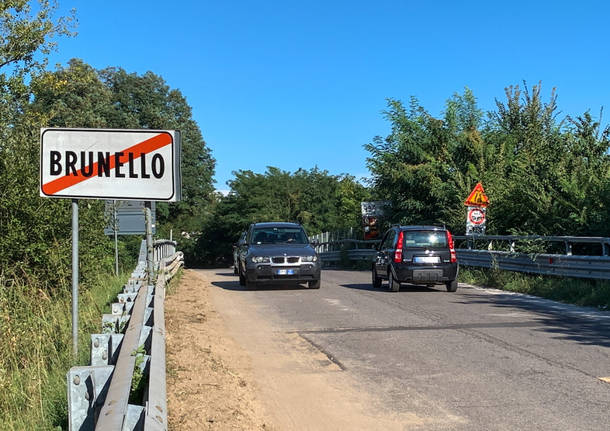 ponte cavalcavia brunello gazzada
