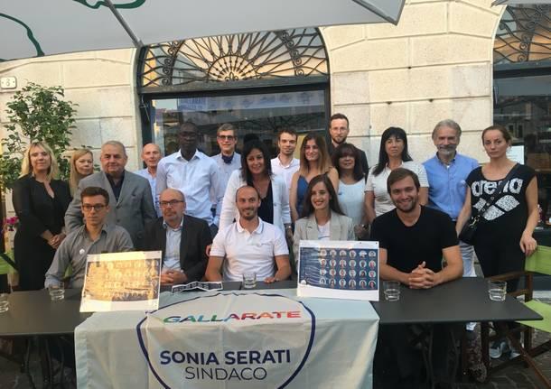 presentazione più Europa gallarate Sonia Serati
