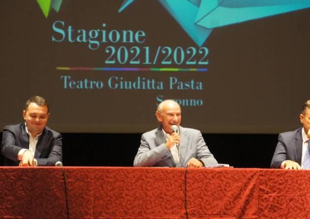 Presentazione stagione teatrale 2022 al Teatro Giuditta Pasta di Saronno