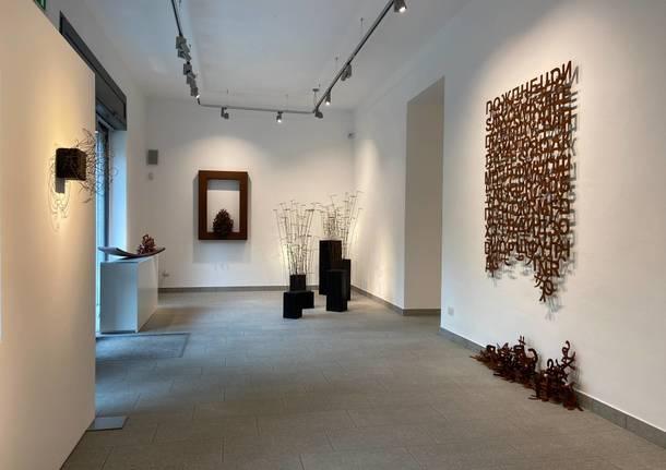 Rudy Pulcinelli in mostra alla Galleria Punto sull'Arte