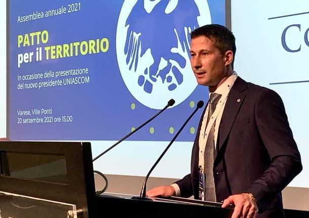 Rudy Collini nuovo presidente di Confcommercio Varese