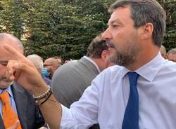 Salvini a Varese in piazza XX Settembre