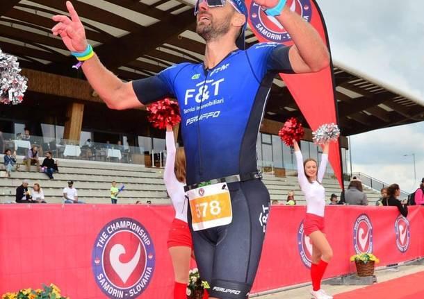 Simone Ferraro - triathlon 70.3