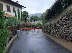 Smottamento a Daverio in località Dobbiate