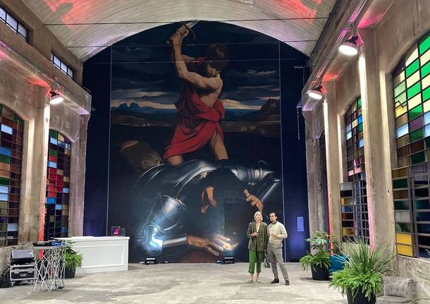 Somma Lombardo - Inaugurazione spazio artistico con Ravo Marroni
