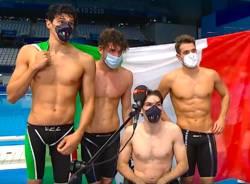 staffetta 4x100 maschile paralimpiadi tokyo