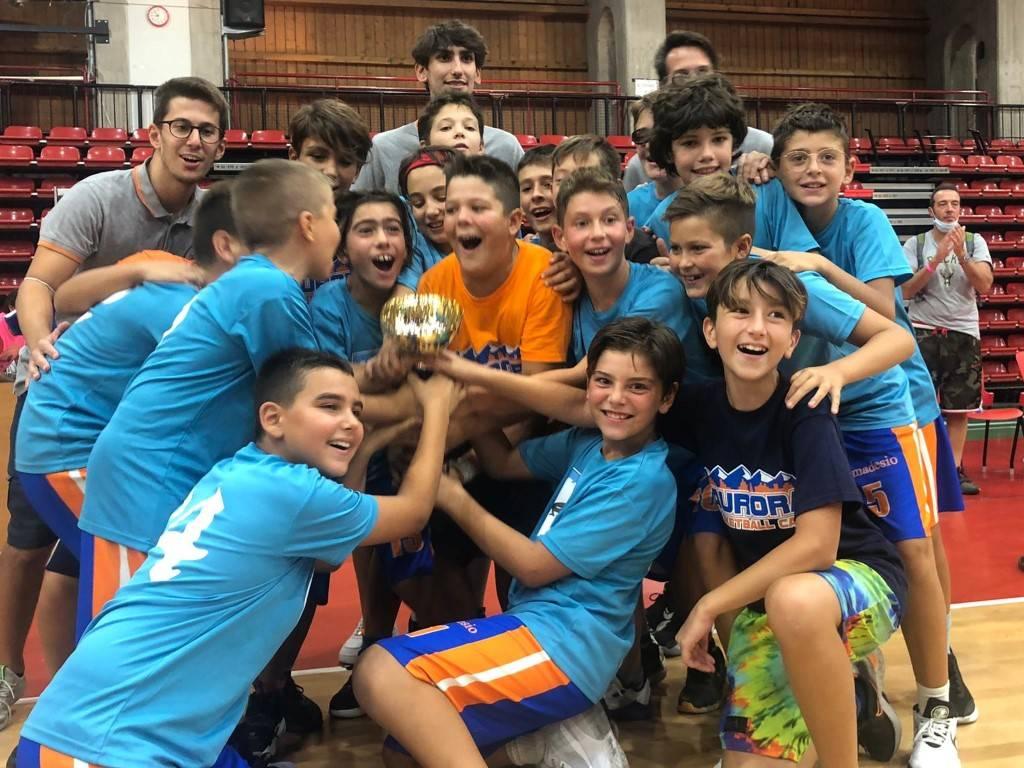 Torneo delle contrade con il Legnano Basket Knights, le premiazioni