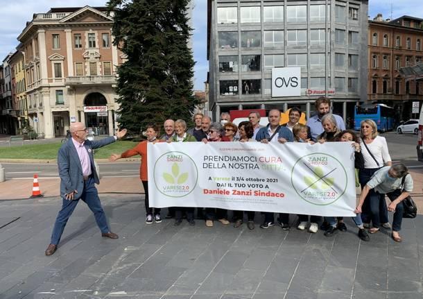Una Zanzape per l'ultima settimana di campagna di Varese 2.0