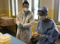 """Vaccinazioni alla """"Casa della Carità, mensa dei poveri"""" di Legnano"""