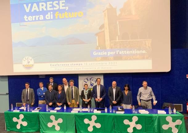 Varese - Presentazione dei tavoli tematici della Lega
