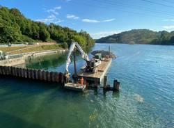 lavori diga miorina lago maggiore
