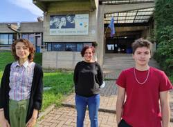 Venegono Inferiore - Liceo Artistico don Milani  Emma Lauda, Andrea Ravetti e Ljuba Albertini Expo Dubai