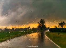 Vento e temporale a Ferno