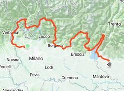 600 km in bici dal Lago Maggiore a Verona