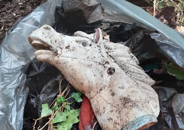 La giornata ecologica di Besozzo si chiude con oltre 5000 kg di spazzatura raccolta