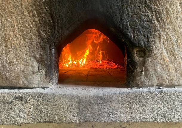 A Cuirone di Vergiate l'antico forno