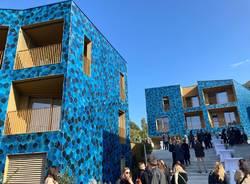 A Laveno Mombello l'inaugurazione delle Case Blu nell'area dell'ex Ceramica