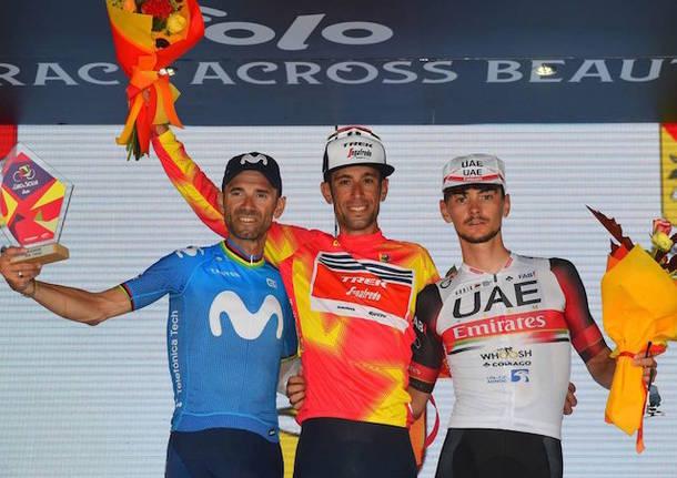 alejandro valverde vincenzo nibali alessandro covi ciclismo giro di sicilia