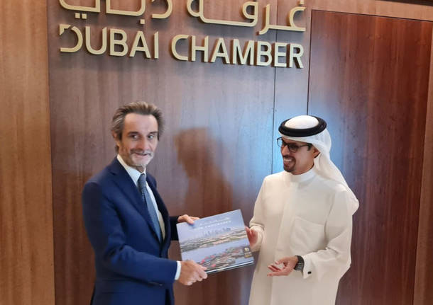 attilio fontana dubai ministro emirati