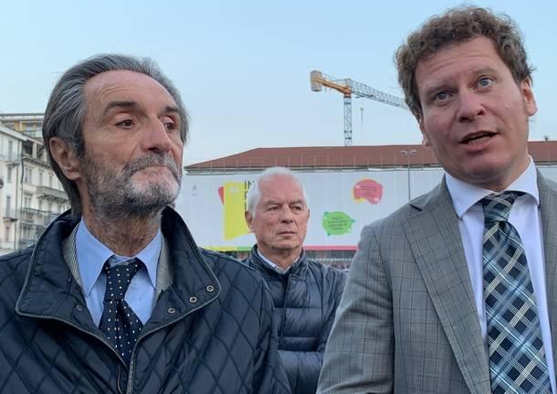 Bianchi Fontana e Galli in piazza Repubblica