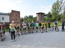 Bici storiche a Legnano, biciclettata