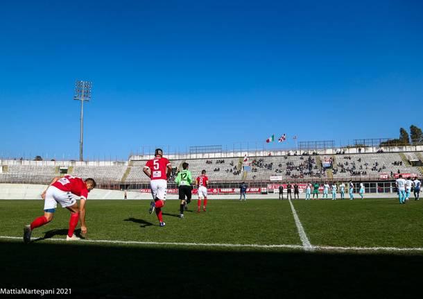 Serie D: Varese – Chieri 1-1