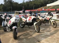 Il team Lucky Explorer al Rally di Sardegna