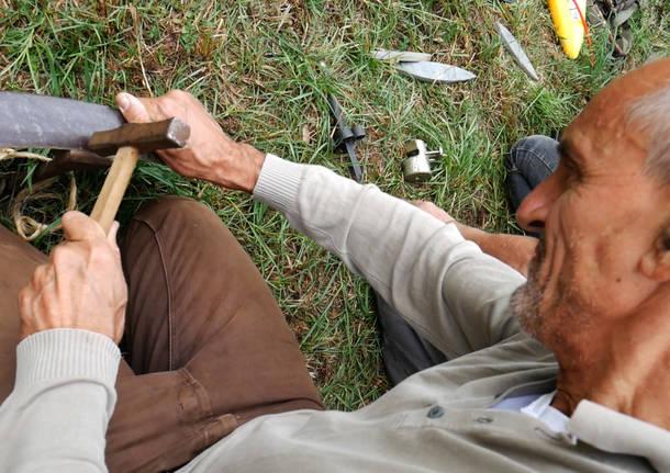 """Valcuvia, a lezione di """"ranza\"""" come la usavano i nonni"""