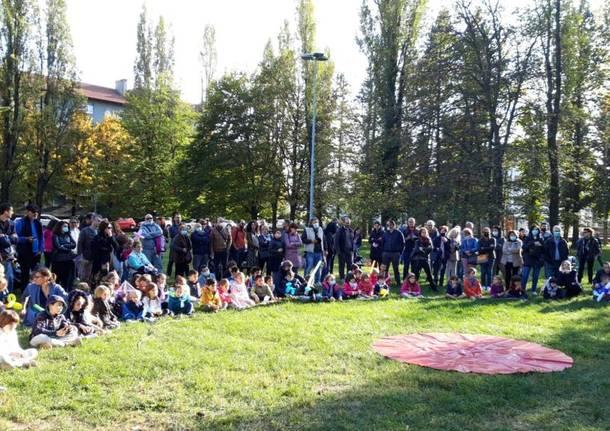 La Castagnata al parco Robinson a Legnano