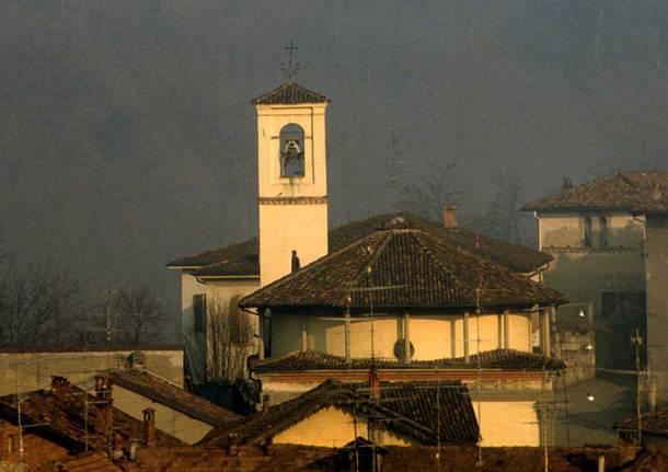 Castiglione Olona - La chiesa di Villa (foto di Franco Canziani)