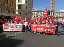 Cgil Legnano alla manifestazione antifascista a Roma
