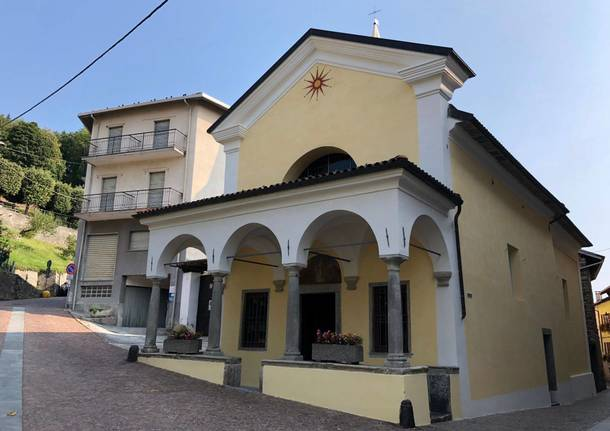 Chiesa San Bernando - Colazza - restauro