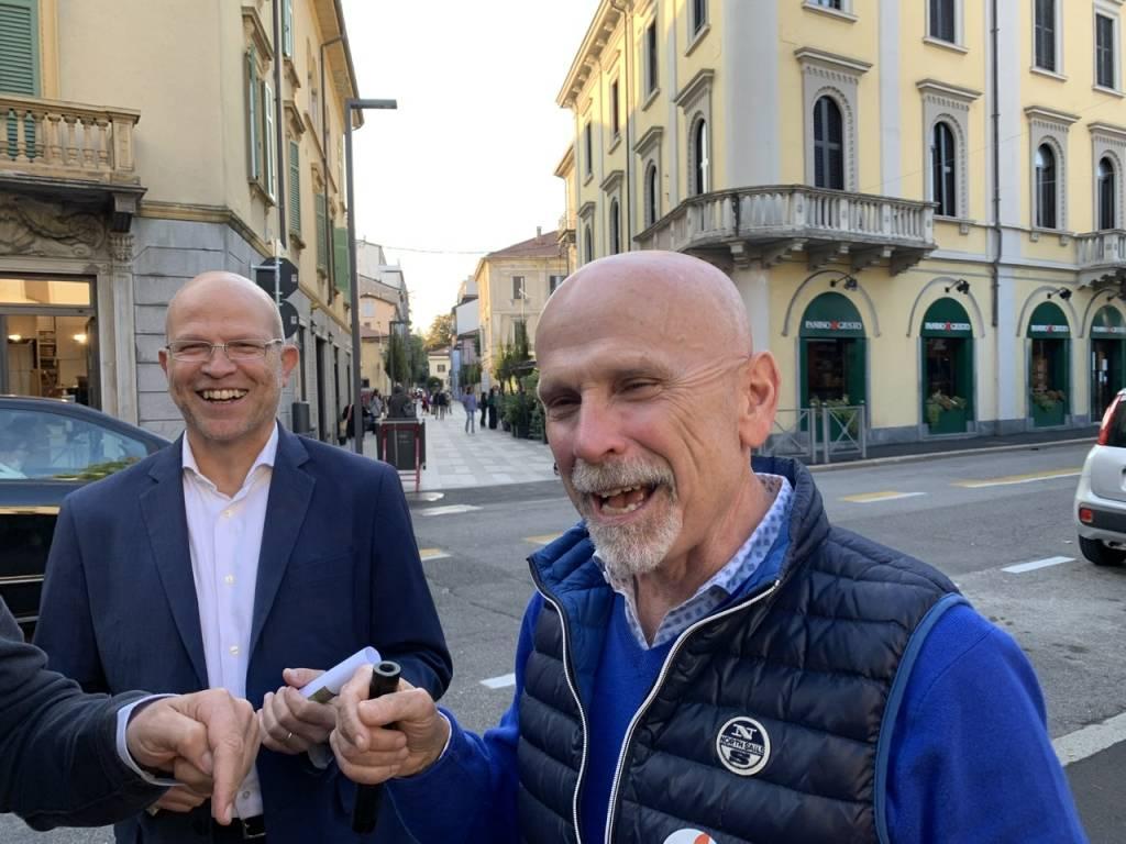 Chiusura della campagna elettorale: Daniele Zanzi