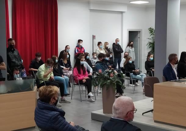 cittadinanza onoraria a Liliana Segre a Busto Garolfo