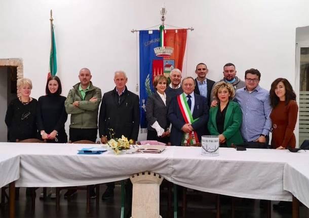 Clivio - Il nuovo consiglio comunale
