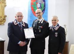 colonnello piasentin associazione nazionale carabinieri anc somma lombardo