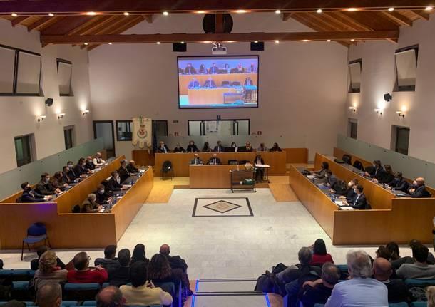 L'insediamento del consiglio comunale Gallarate 2021