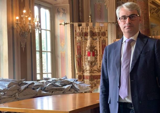 Davide Galimberti riproclamato sindaco di Varese