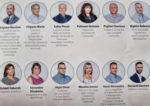 Elezioni Cugliate Fabiasco 2021
