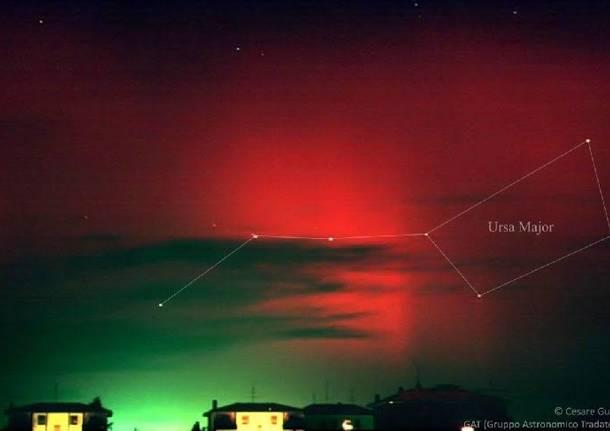 eruzione solare 21 ottobre 2001 cesare guaita gruppo astronomico tradatese