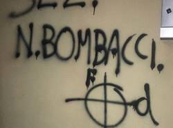 gavirate scritte fasciste