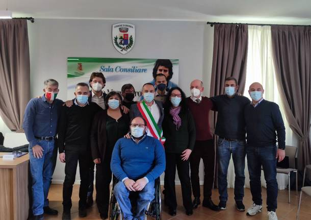 giunta Brebbia 2021 - magni sindaco